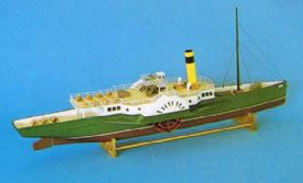 Edwardian Paddle Steamer